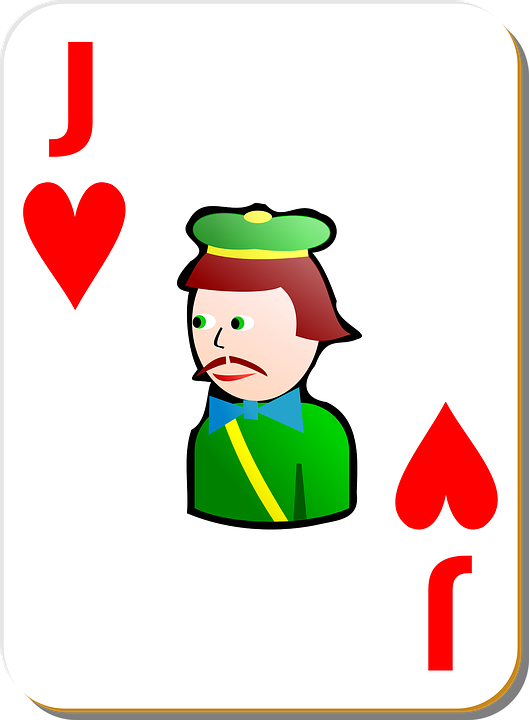 Jack, Hearts, Poker, Playing Cards, Game, Cards