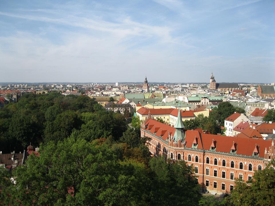 Kraków, Landscape, City, Poland, Panorama