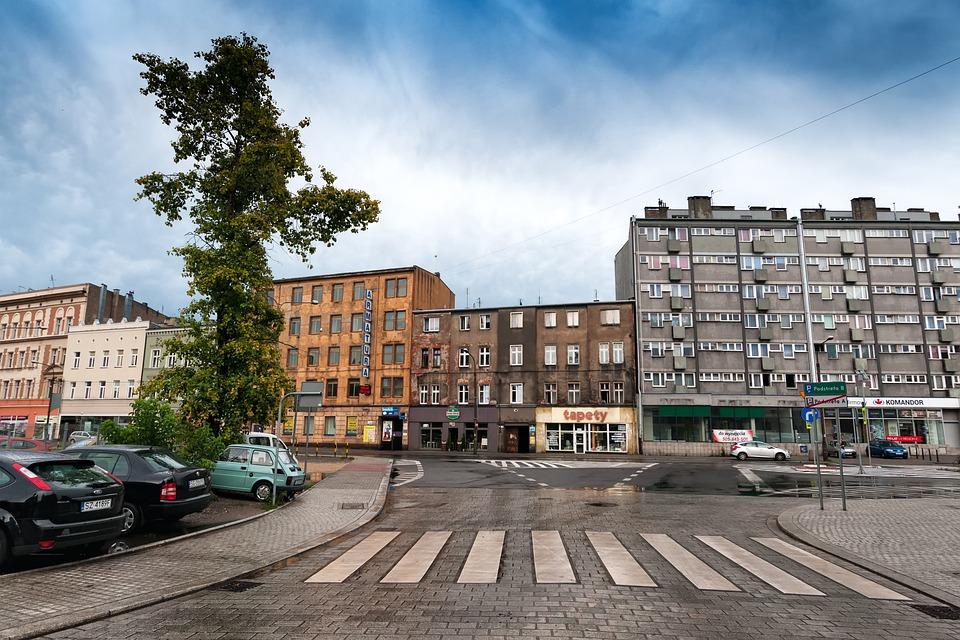 Gliwice, Downtown, Poland
