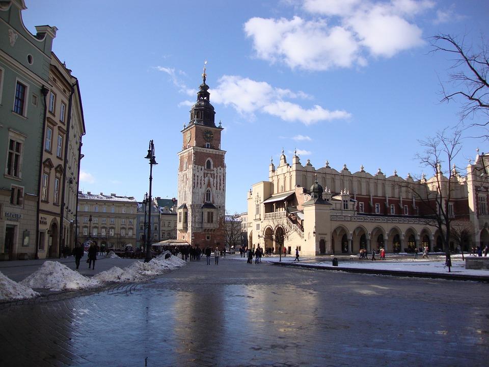 Kraków, Poland, Architecture, Cloth Hall Sukiennice