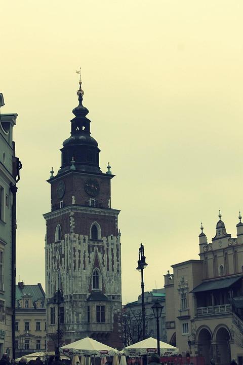 Krakow, Oldtown, Cracow, Europe, Building, Poland