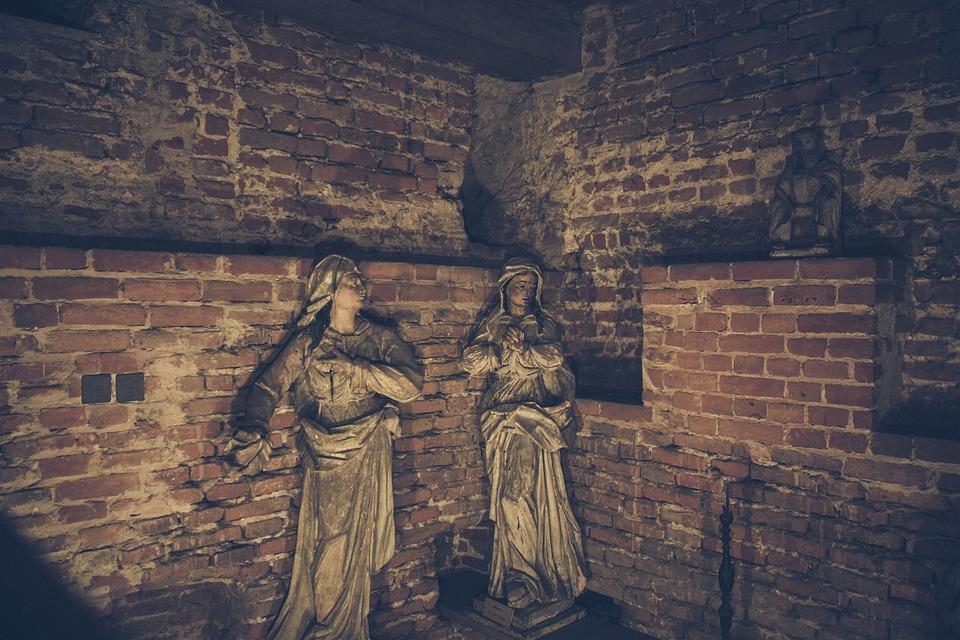 Sculpture, Church, Lublin, Poland, Christianity
