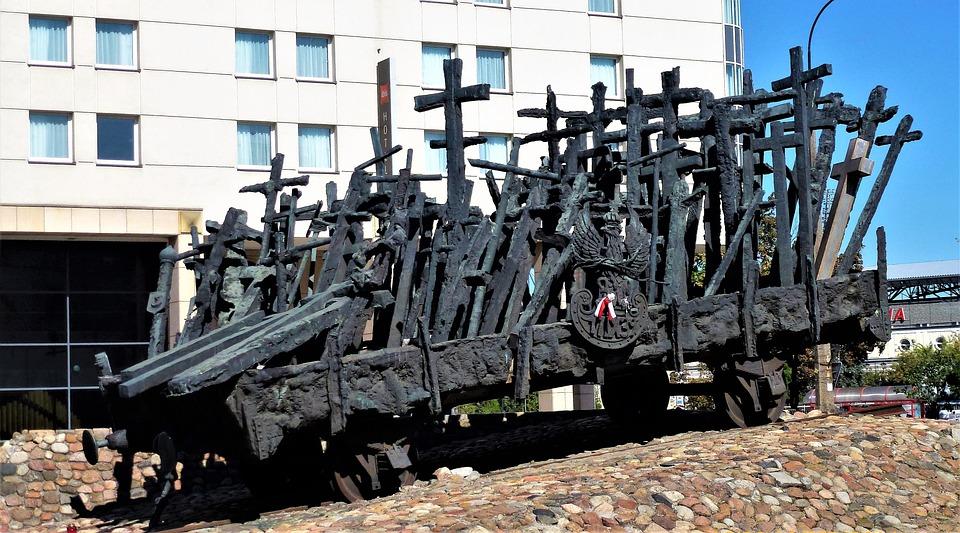 Monument, Poland, Warsaw, Symbol, Tourism, Memorial