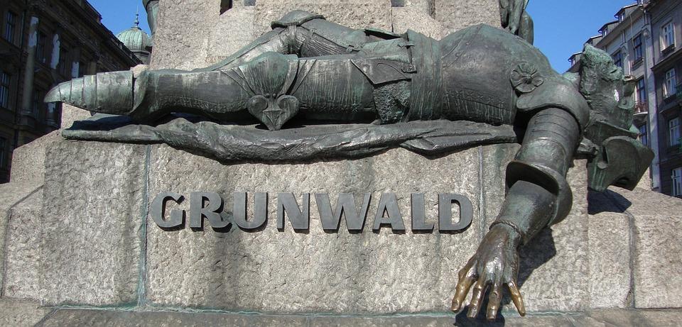 Kraków, Poland, Monument, History, Grunwald