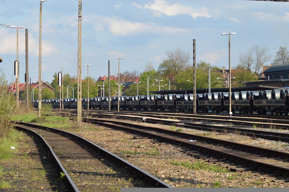 Tracks, Pkp, Poland, Gebze, Railway Station, Railway