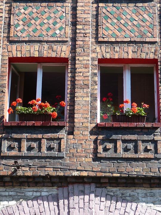 Katowice, Poland, Silesia, Settlement, Facade, Window