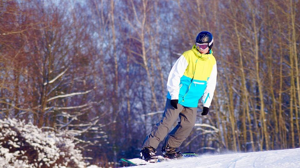 Up Chrobry, Winter, Elbląg, Stok, Skis, Snow, Poland