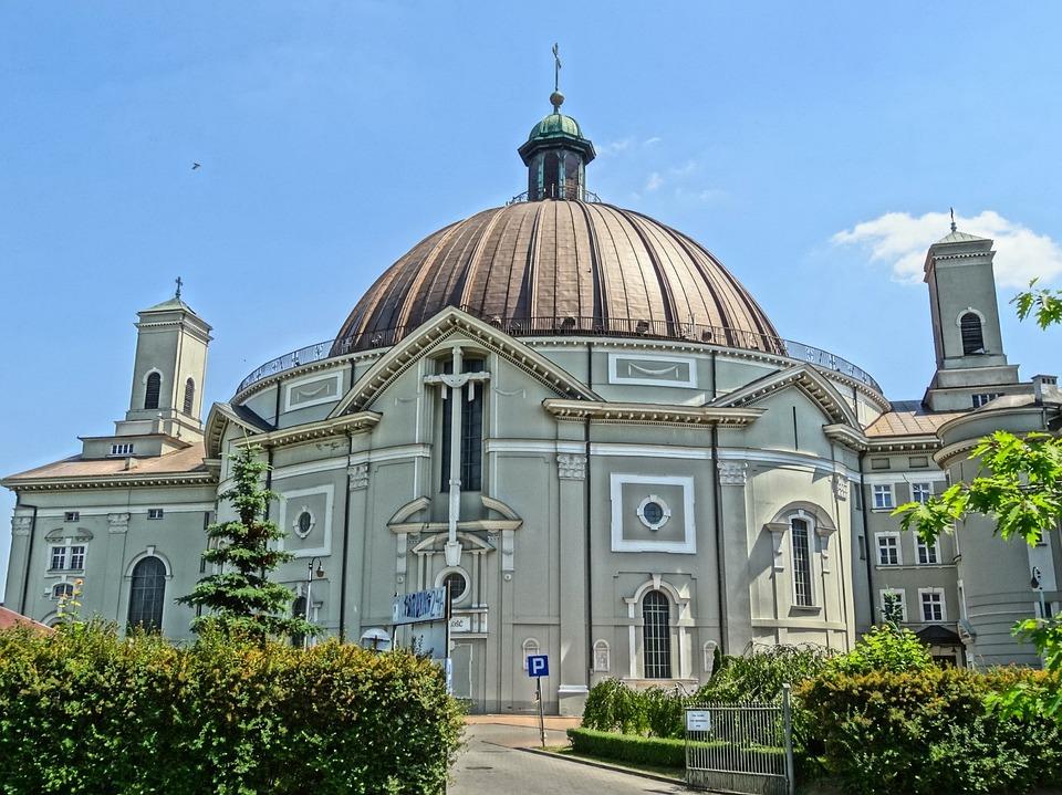 St Peter's Basilica, Vincent De Paul, Bydgoszcz, Poland