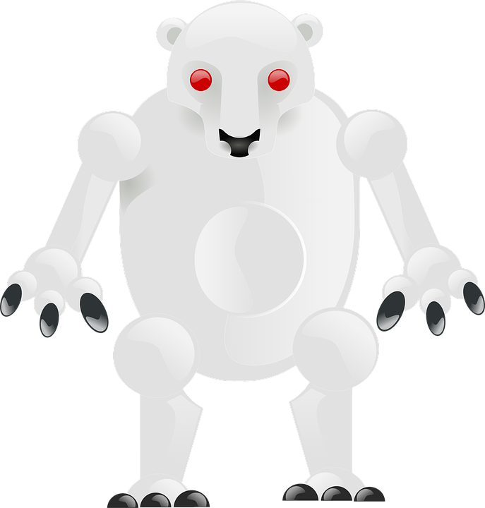 Bear, Robot, Polar Bear