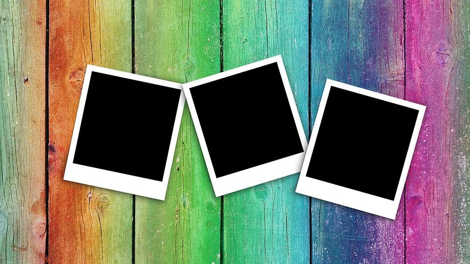 Free Photo Polaroid Photo Empty Retro Blank Picture Frame Max Pixel