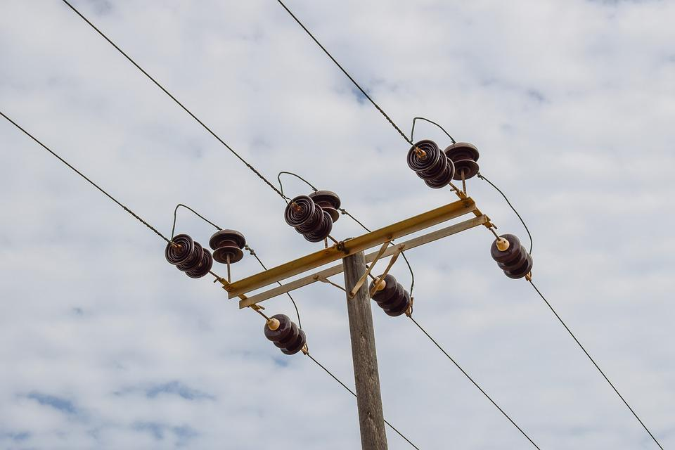 Free photo Pole Telephone Telecommunication Wires - Max Pixel