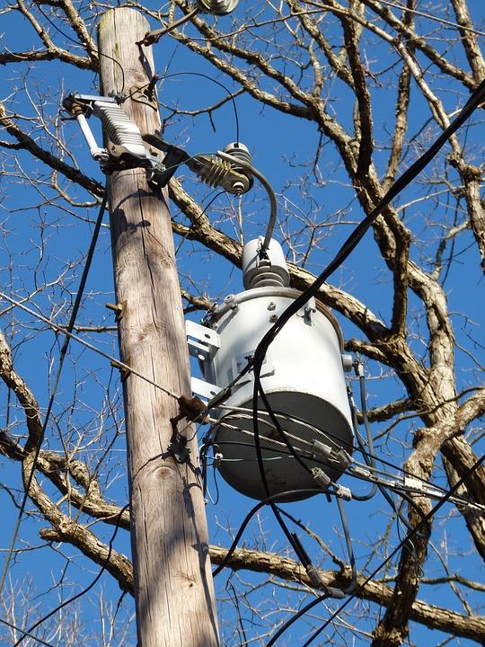 Electricity, Telephone Pole, Line, Sky, Voltage, Pole