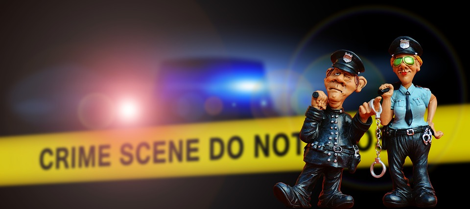 Police, Crime Scene, Blue Light, Discovery