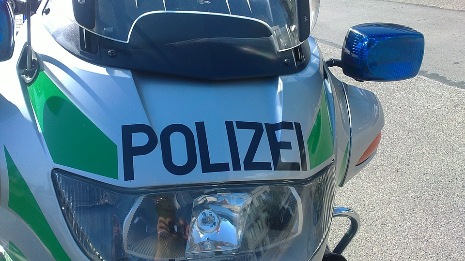 Polizeimotorrrad, Police, Forces, State Security
