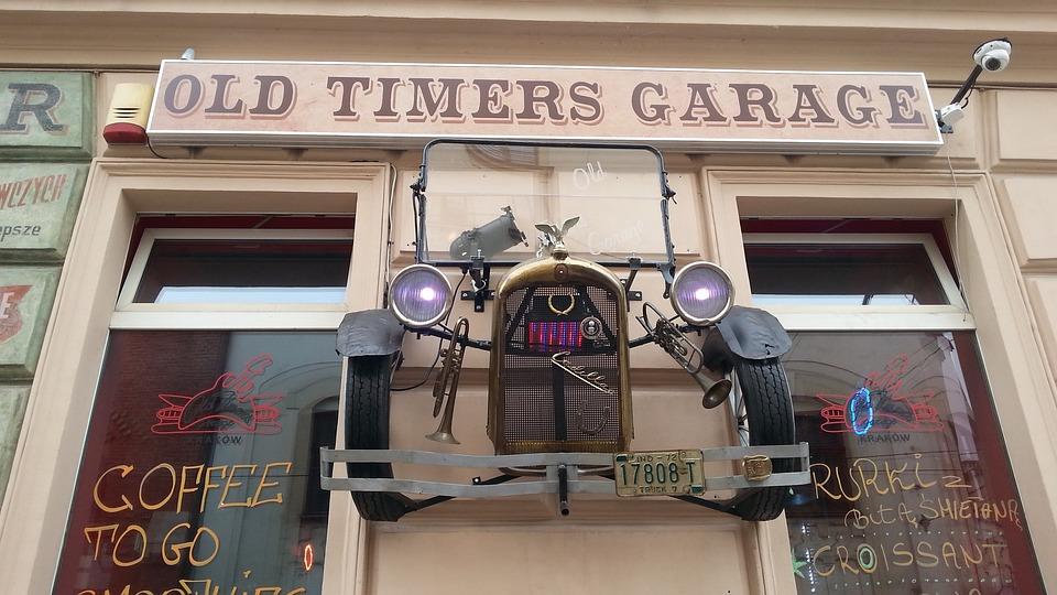 Old Times Garage, Polish, Car, Restaurant