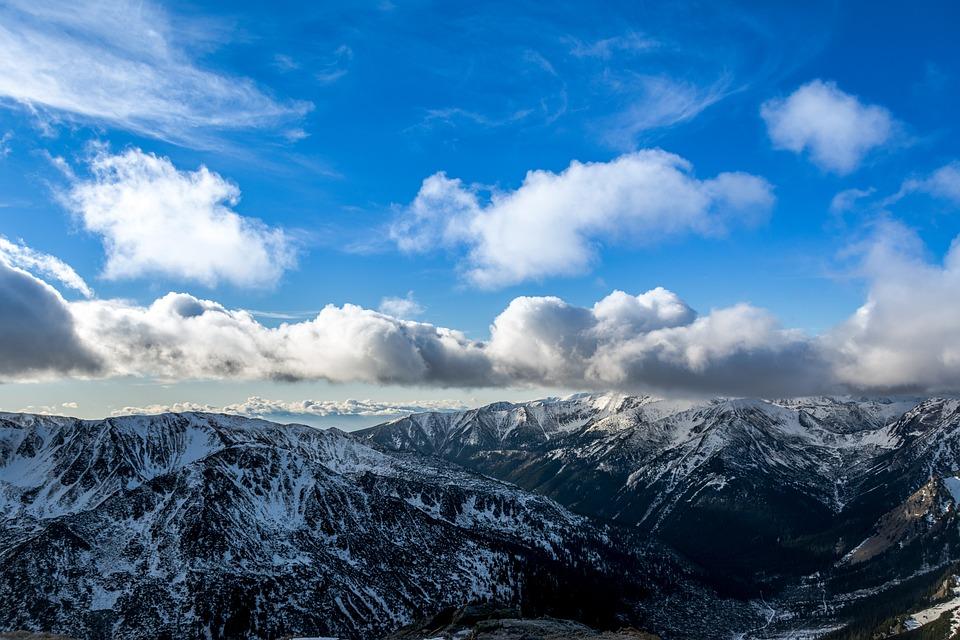 Poland, Tatry, Winter, Kasprowy Wierch, Polish Tatras