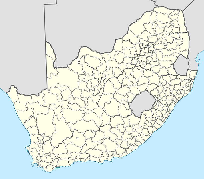 South Africa, Map Of South Africa, Political Boundaries
