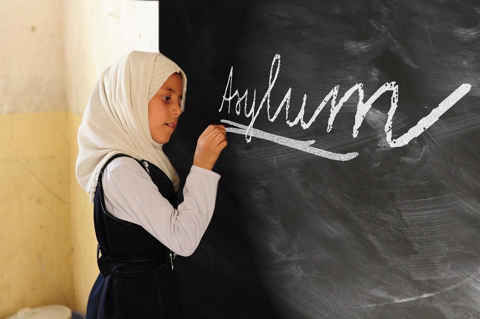 Girl, Asylum, Politically, Policy, Germany, Refugees