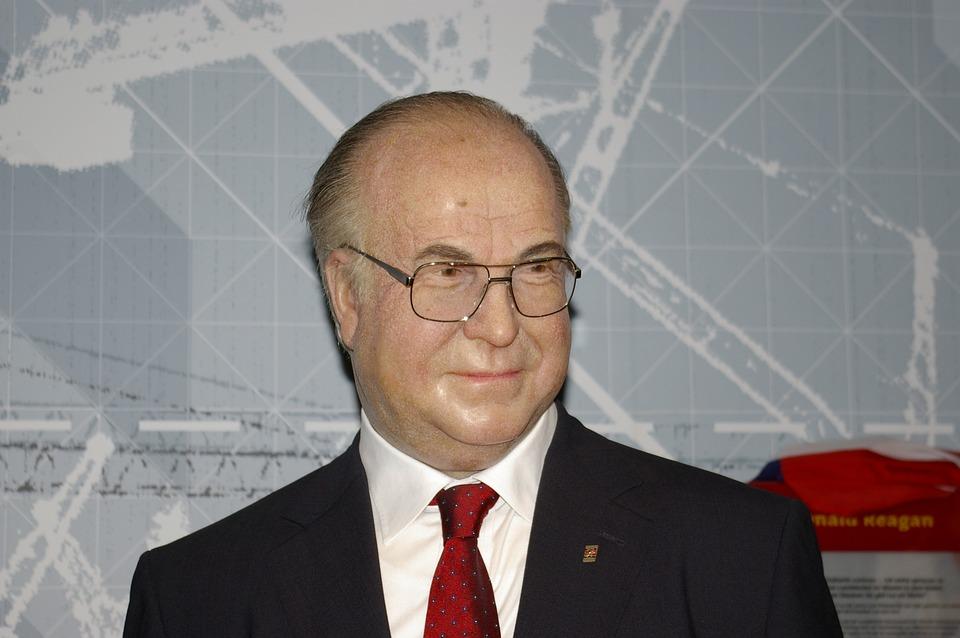 Helmut Kohl, Politician, Wax Figure, Madame Tussauds