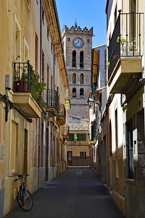 Pollença, Mallorca, Balearic Islands, Spain, Old Town