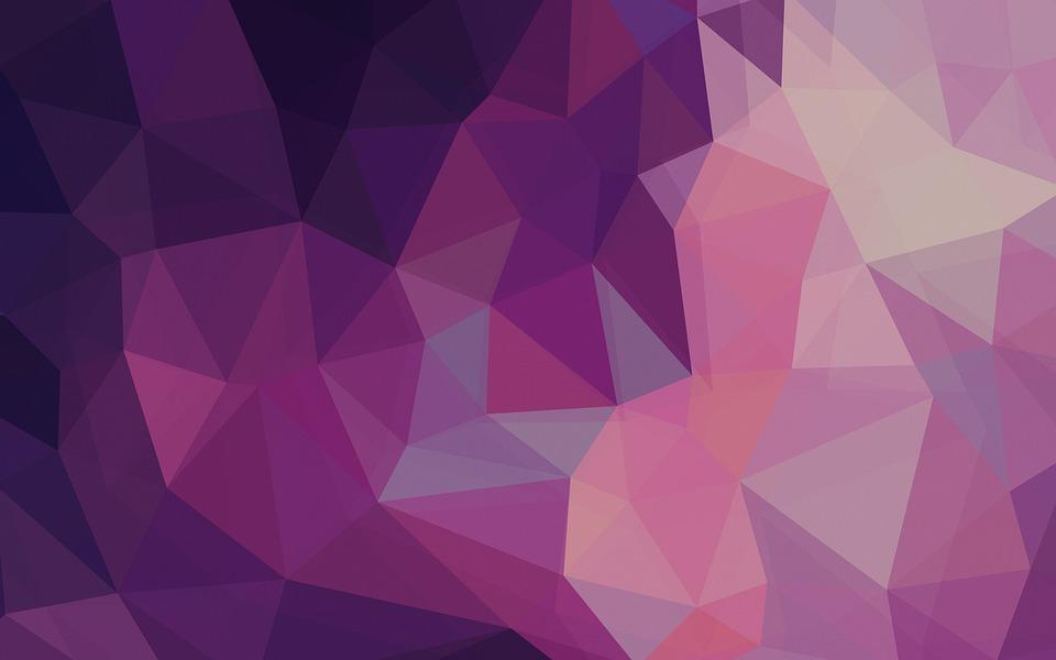 Polygon, Grunge, Texture