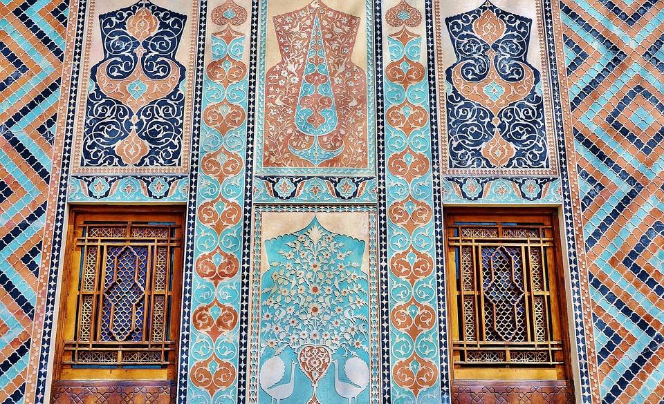 Mosaic, Pattern, Facade, Building, Polygonal