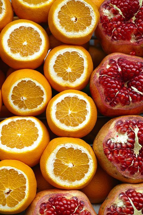 Pomegranate, Fruit, Health, Diet, Fresh, Food