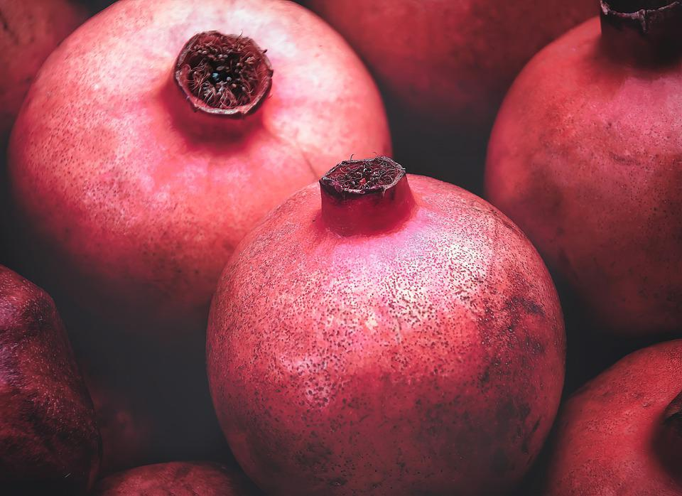 Pomegranate, Seduction, Sweet, Fruit, Food, Eat