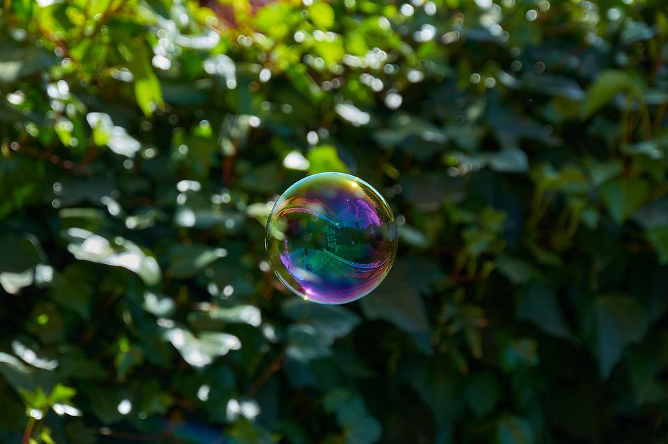 Pomp, Bubble, Reflection, Ball, Colorful, Fun, Play