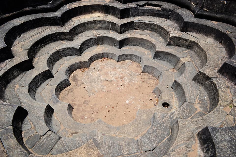 Lotus Pond, Pond, Stone Pond, Polonnaruwa