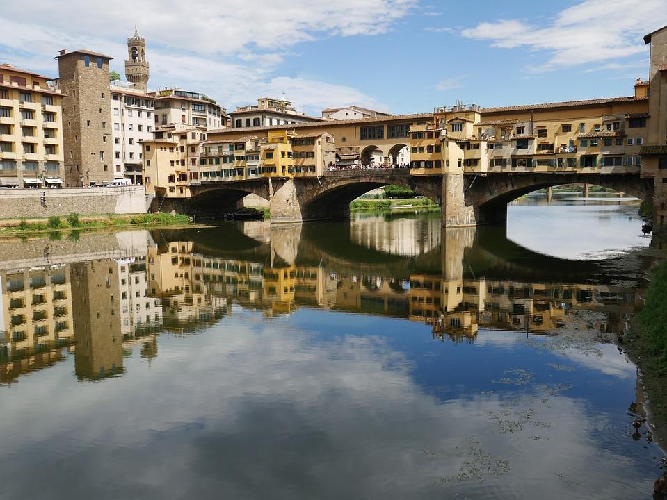 Florence, Ponte Vecchio, Tuscany, Arno, Firenze
