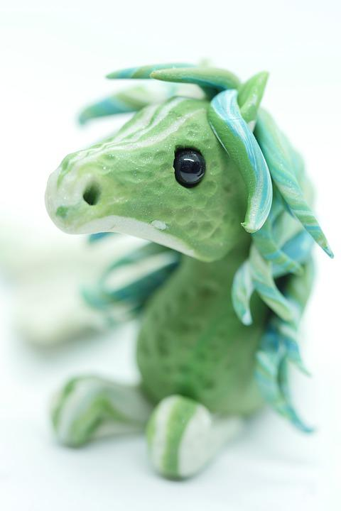Sea Horse, Mermaid, Pony, Sculpture, Horse, Figure, Art