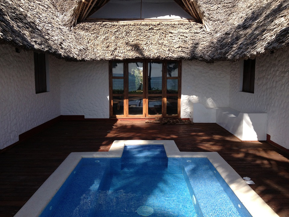 Pool, Villa, Holiday, Water, Architecture, House