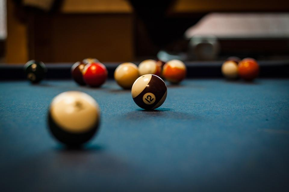 Pool Table, Green, Flat, Pool, Sport, Table, Game, Ball