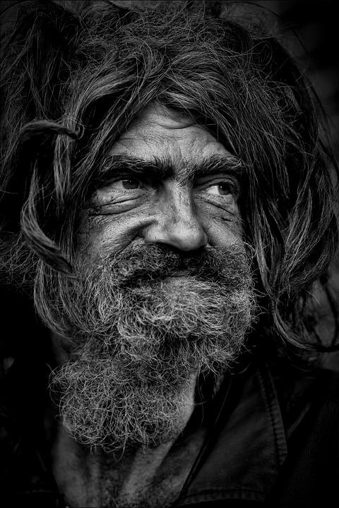 Man, Homeless, Poverty, Homeless Man, Poor, Elderly Man