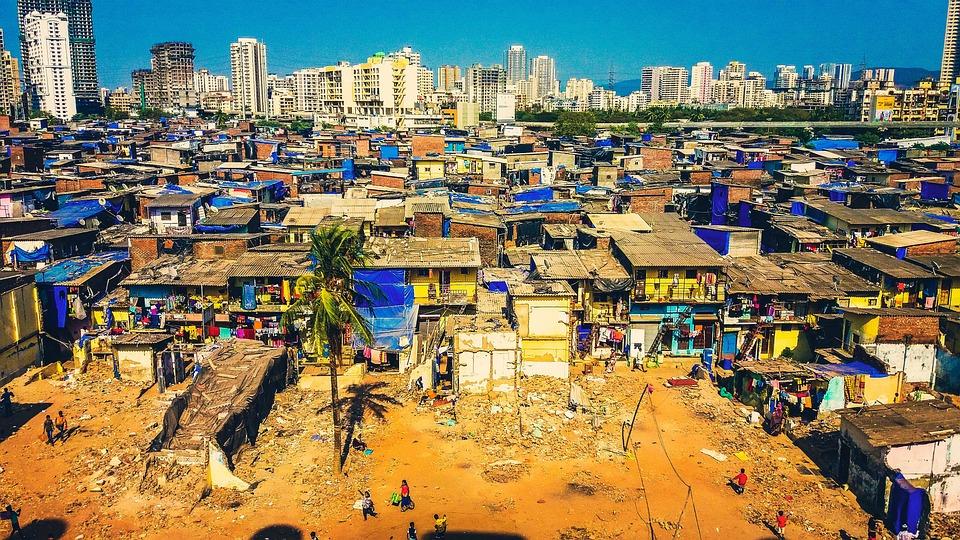 Mumbai, Slums, Poverty, Poor, Ghetto, Shanty, City