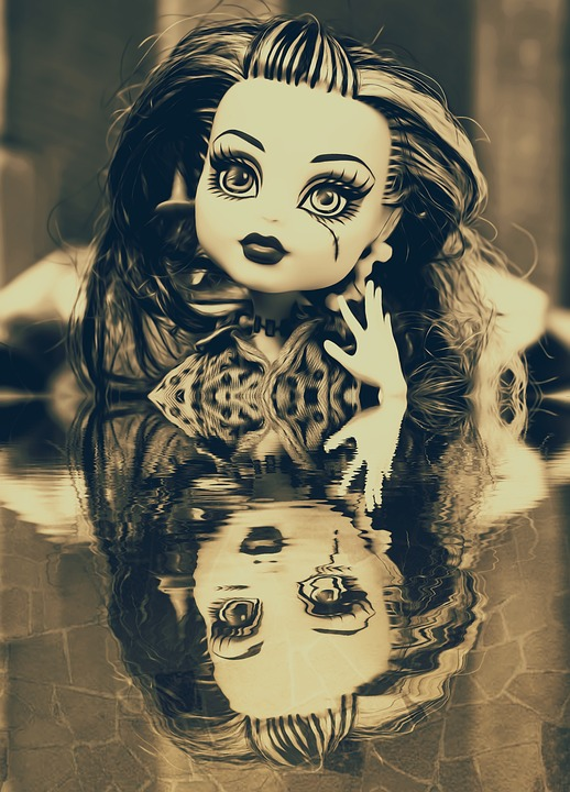 Art, Artistic, Pop, Water, Reflection, Dark, Fantasy