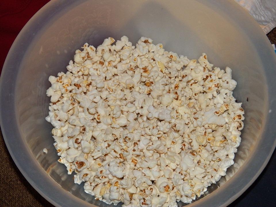 Popcorn, Bowl Of Popcorn, Food, Movie