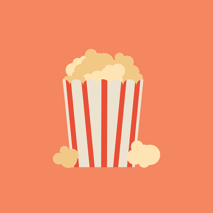 Popcorn, Movie, Cinema, Film, Snack, Theater, Audience