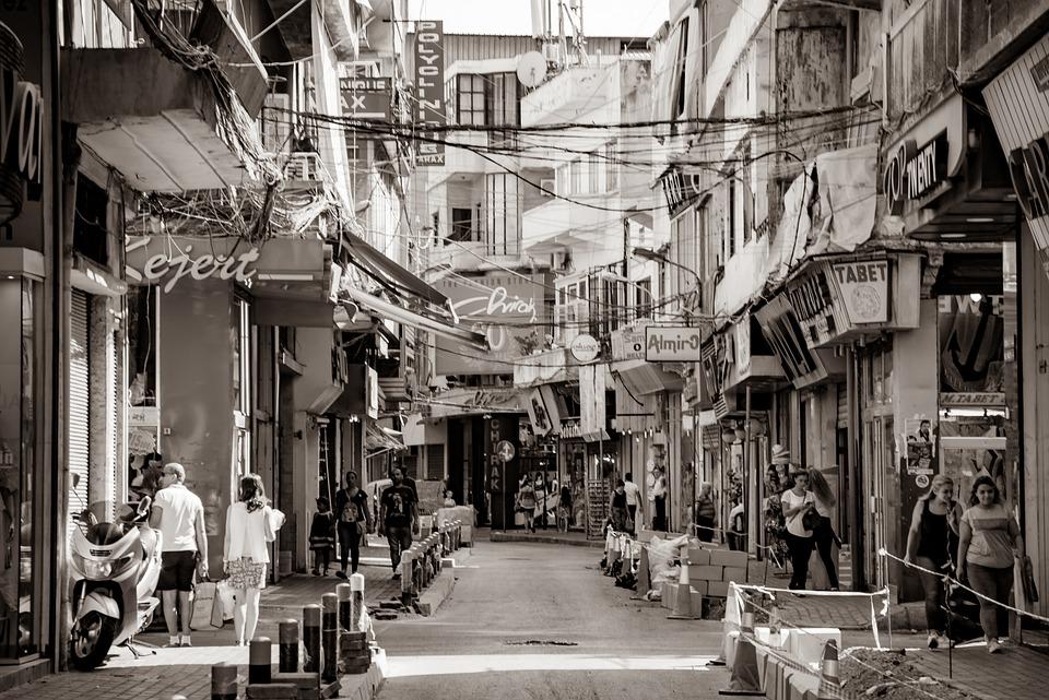 City, Street, Commerce, Popular, Old, Neighborhood