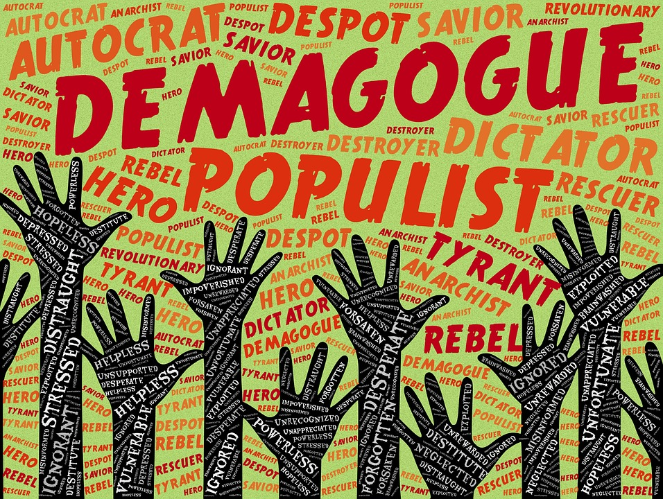 Demagogue, Populist, Autocrat, Dictator, Despot