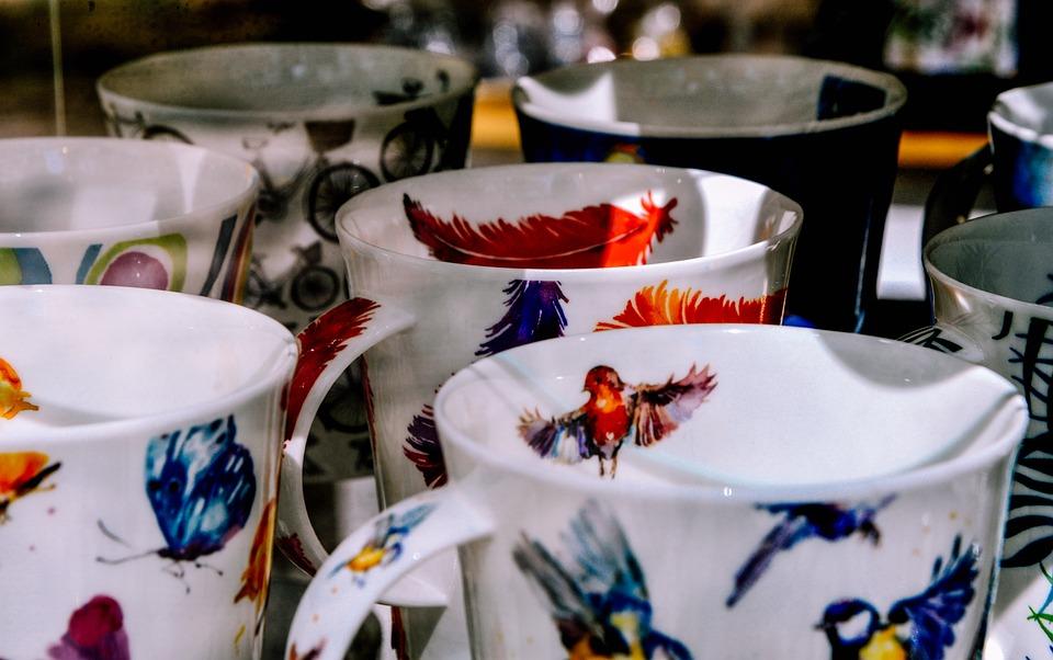 Porcelain, T, Coffee Cup, Ceramic, Teacup, Tableware