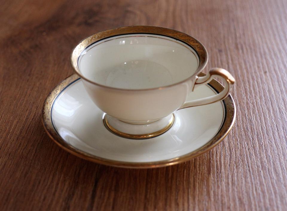 Teacup, Porcelain, Souvenir