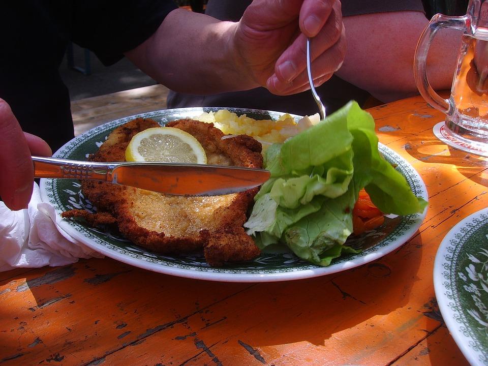 Schnitzel, Eat, Pork Cutlet, Breaded