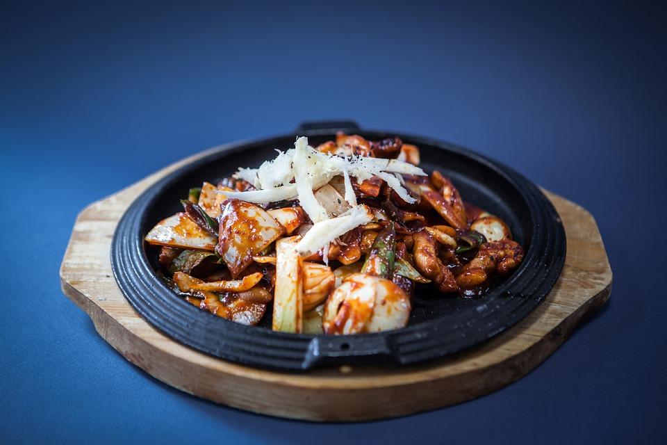 Food, Pork, Meat, Korean Food