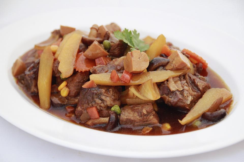 Food, Eat, Pork Ribs, Cook