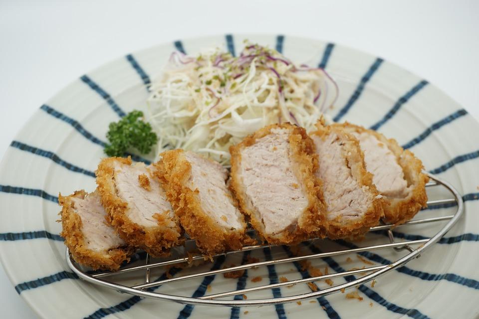 Tonkatsu Soup, Pork Cutlet, Pork Tenderloin
