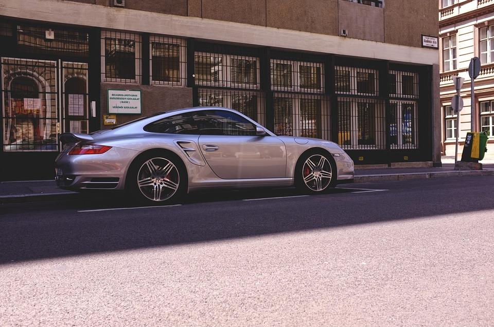 Sports Car, Porsche, Street, Budapest