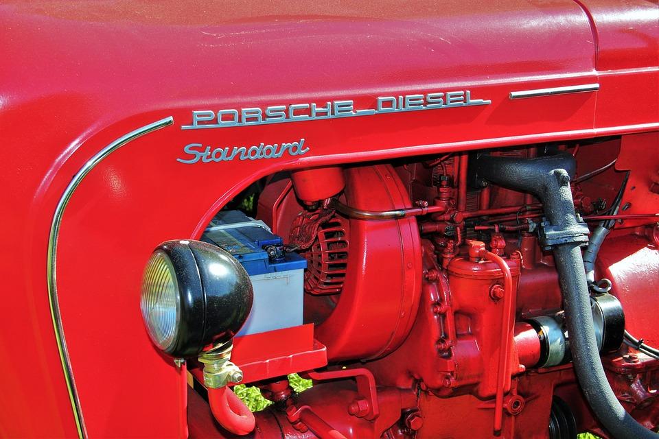 Historical Tractor, Porsche Diesel Standard, Tractors