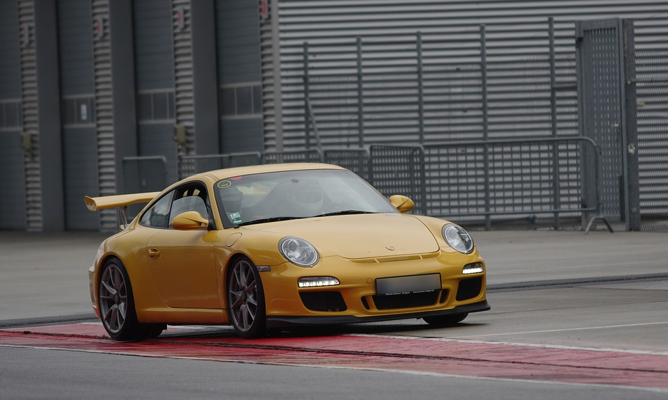 Auto, Porsche, Sports Car, Lausitzring, Race Training